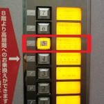 エレベーター内操作パネル