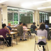 千葉県千葉リハビリテーションセンター講演会の様子
